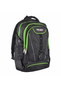 Trek Gear Outdoor Backpack with Laptop Compartment - TBP609 Black