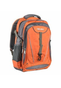 Trek Gear Outdoor Backpack with Laptop Compartment - TBP609 Orange
