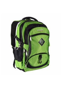 Trek Gear Outdoor Backpack with Laptop Compartment - TBP611 Green