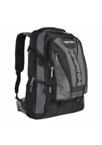 Trek Gear Outdoor Backpack with Laptop Compartment - TBP612 Grey