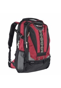 Trek Gear Outdoor Backpack with Laptop Compartment - TBP612 Red