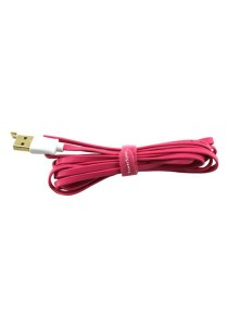 Powersync USB2.0 Sync And Charging Flat Cable 2M (Pink)