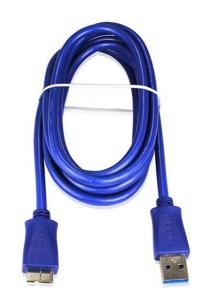 Powersync USB3-Ermib186 USB 3.0 to Micro Cable 1.8M (Blue)