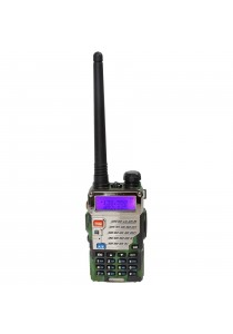 Baofeng UV-5RE 5W 128CH VHF/UHF Dual Band Portable Two Way Walkie Talkie (Green)