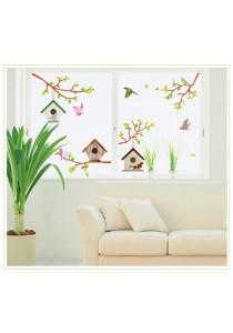 OEM - Bird Cage & Bird Wall Stickers