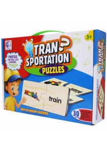 Fun To Know Puzzles Games Transportation - 2060A