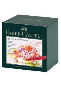 Faber-Castell 60 Pitt Artist Pens Brush - 167150