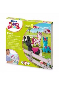 Staedtler 803408 FIMO Kids Form & Play 42g 4s - Pony
