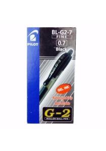 Pilot G2 Roller Ball Pen 0.7mm BL-G2-7 (Black) (Box of 12pcs)