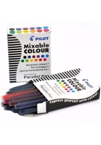 Pilot Mixable 12 Colour Parallel Pen - Set of 2