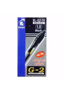 Pilot G2 Roller Ball Pen 1.0mm BL-G2-10 Broad (Black) - Box of 12pcs