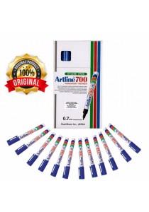 Artline 700 Permanent Marker 0.7mm Blue (Box of 12pcs) -804212