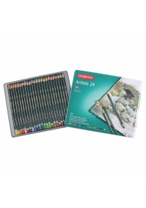 Derwent 32093 Artist Colored Pencil Tin of 24
