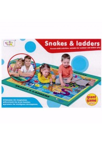 Giant Floor Mat Board Game Snakes & ladders - 55200