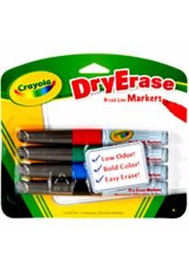 Crayola Dry Erase Markers (4 Count)