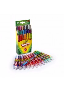 Crayola 24 Mini Twistable Crayons-529724