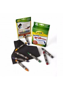 Crayola 8 Washable Dry Erase Crayons
