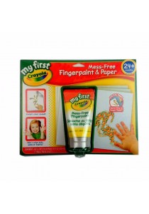 Crayola My First Mess Free Fingerpaints -811304