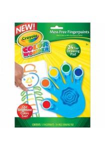 Crayola Color Wonder Fingerpaints-752060