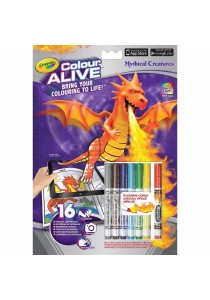Crayola Colour Alive Mythical Creatures-951051