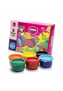 MasterArt Premium Grade Finger Paint 6 Colours-203986