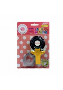 MoTEX Astar Yellow TW101 Tape Write with 1 Roll of Tape