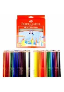 Faber-Castell 48 Tri Colour Pencils 115876