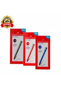 Faber-Castell RX GEL Pen 0.5mm Black,Blue & Red (Set of 3) (Box of 10pcs)