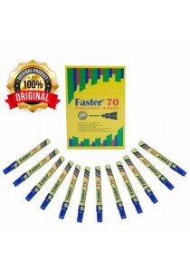Faster 70 Permanent Marker Blue (Box of 12pcs) -M-F-70