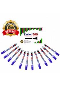 Faster 509 Whiteboard Marker Blue (Box of 12pcs) -902806