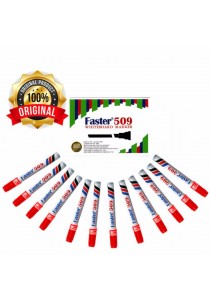Faster 509 Whiteboard Marker Red (Box of 12pcs) -903704