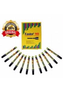 Faster 90 Permanent Marker Black (Box of 12pcs) -M-F-90