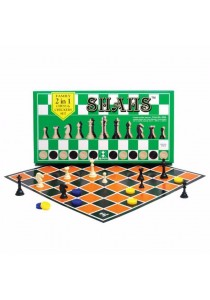 SPM 86 Shahs Family 2 in 1 Chess & Checkers Set