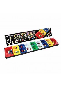 SPM 107 Congkak The Power of Counting 16 holes Multi-Colour