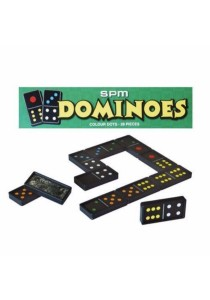 SPM 160 Dominoes Colour Dot 28pcs