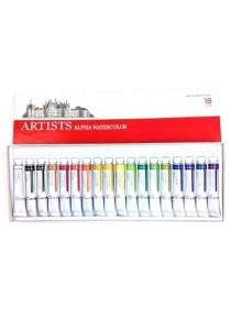 Artists Alpha Watercolor 7.5ml WA2202 (18 Color)