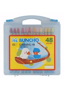 Buncho Gabang 48 Oil Pastels (48 Colors)
