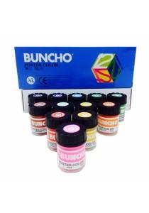 Buncho Poster Color 15cc 12 Colors