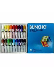Buncho Water Colors 6cc 18 Colors