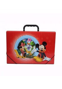 Campap Document Case Mickey Mouse Red - MK24982M