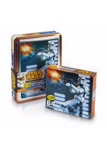 Crayola Star Wars Stormtrooper Collectible Tin 64Crayons (046848)