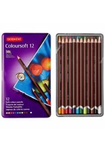 Derwent Coloursoft Tin Of 12-0701026