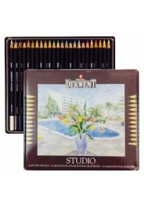 Derwent Studio Fine Colour Pencils 24 Colours-32197