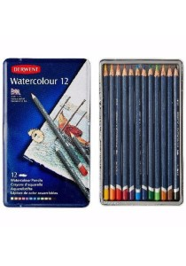 Derwent Watercolour Pencils 12 Colour 32881