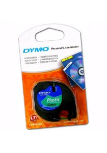 Dymo LetraTag Labelling Tape 12mm x 4m Plastic - Green