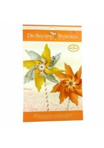 Eno Greeting DIY Amusing Pinwheels AP02 (Orange)