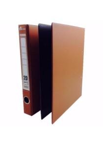 EMI 2D Ring File 25mm Col Foam (Set Of 2) Brown