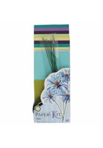Eno Greeting Paper Kit Flowers SFK006