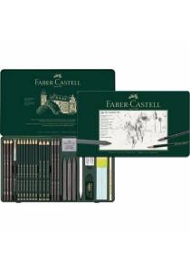 Faber-Castell PITT Graphite Set 26pcs-112974