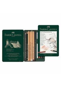 Faber-Castell PITT Monochrome Set 12pcs-112975